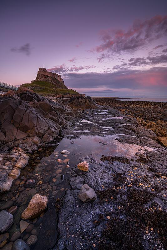 Lindisfarne Low Tide Twilight