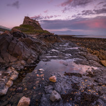 Lindisfarne Low Tide Twilight