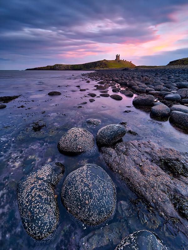 Dunstanburgh Castle Twilight II