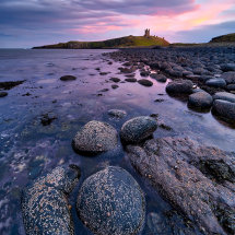 Dunstanburgh Castle Twilight II