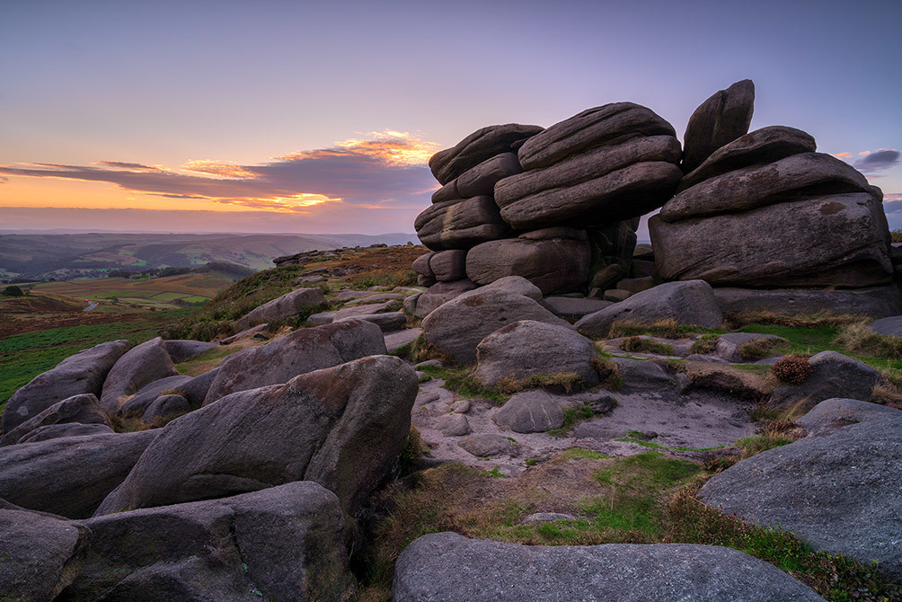 Shelter Rock on Higger Tor III