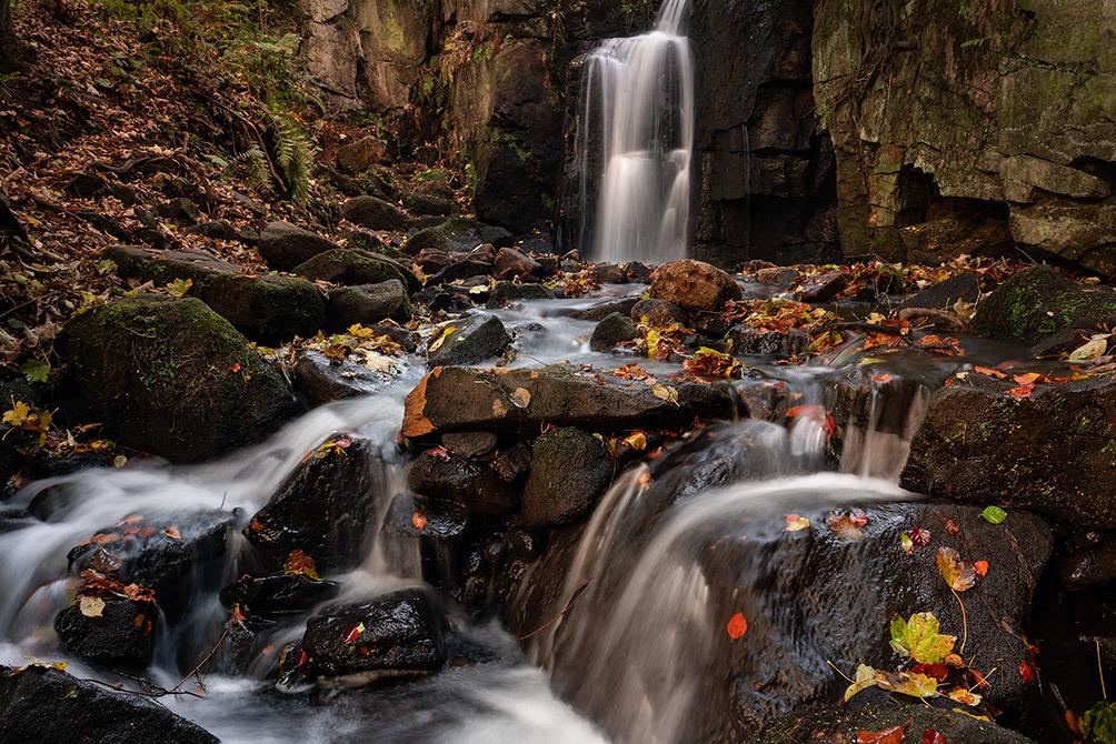 Lumsdale Falls Autumn II