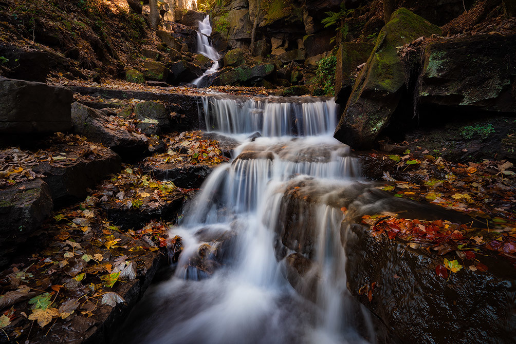 Lumsdale Falls Autumn III