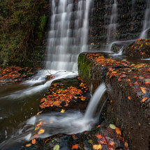 Lumsdale Falls Autumn V