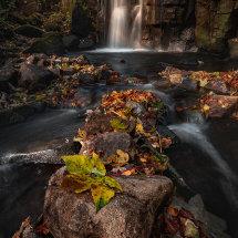 Lumsdale Falls Autumn I