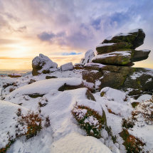 Owler Tor Winter