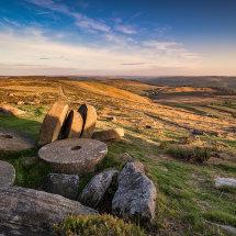 Peaks Stanage Millstones