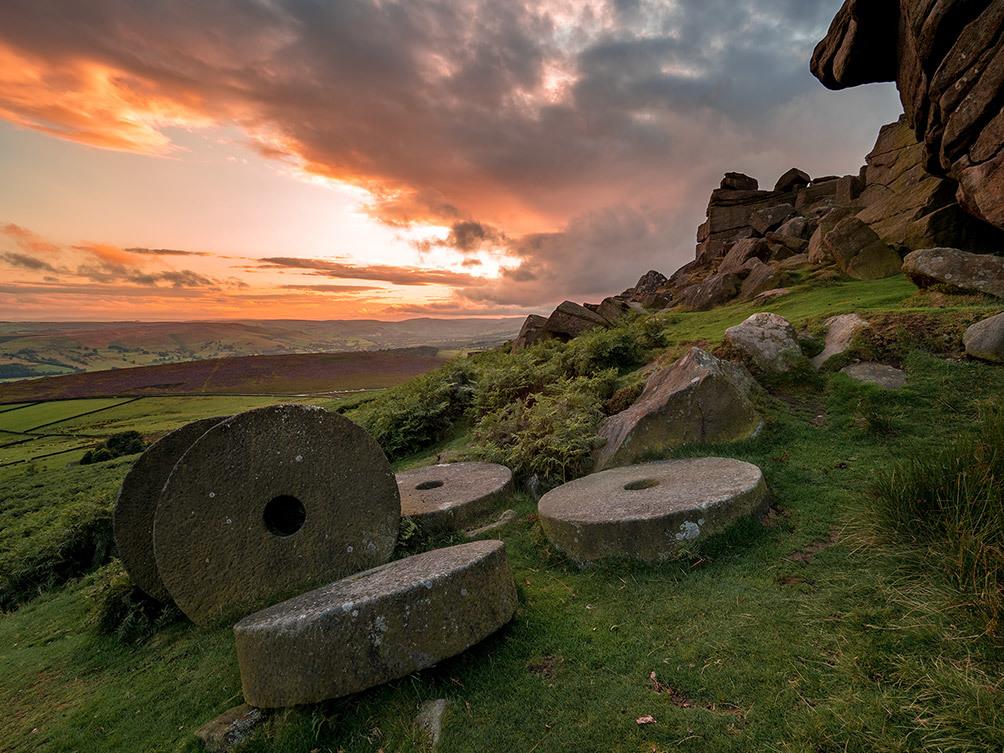 peaks Stanage Mill Stones II