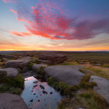 Stanage Sky Fire II