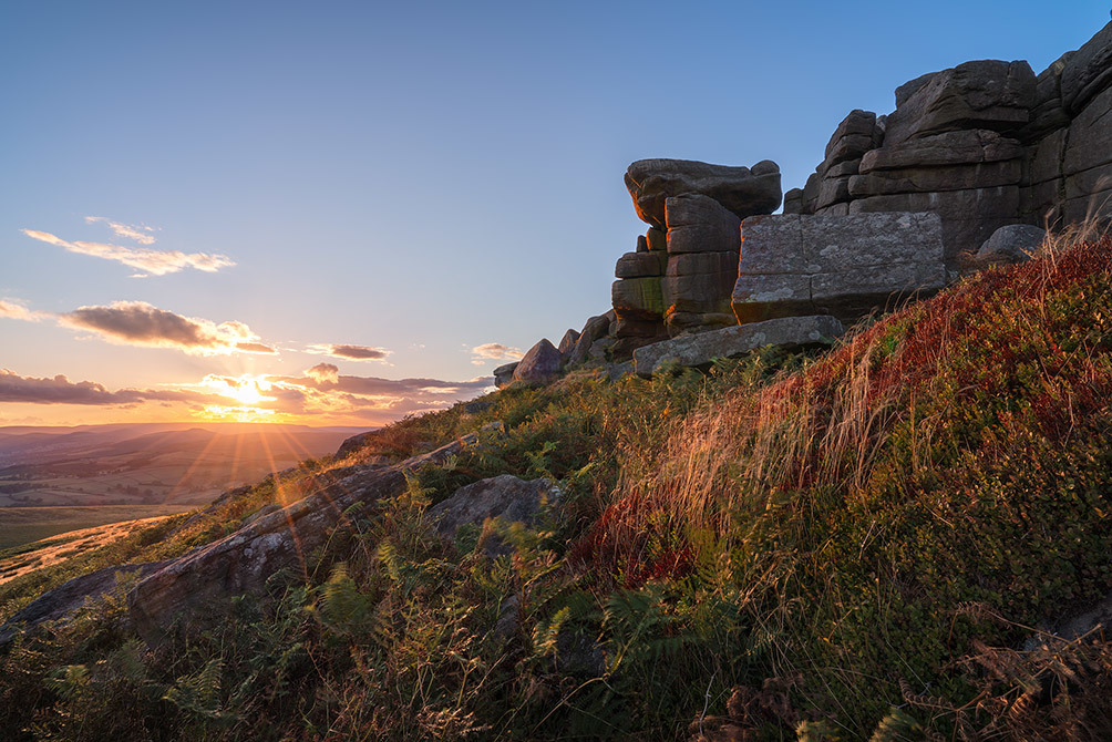 Peaks-stanage-summer-sunset