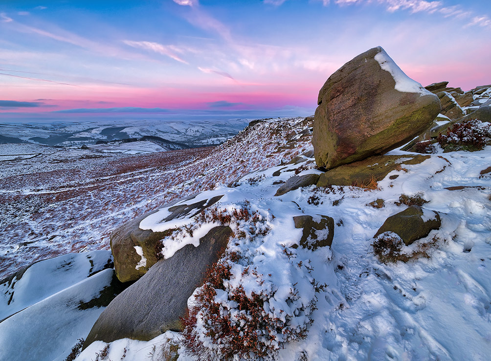 Higger Tor Winter