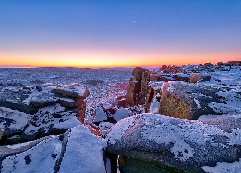Higger Tor Winter Dawn