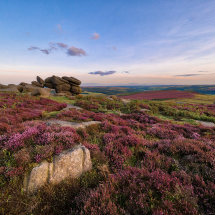 Shelter Rock on Higger Tor I
