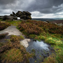 Shelter Rock on Higger Tor II