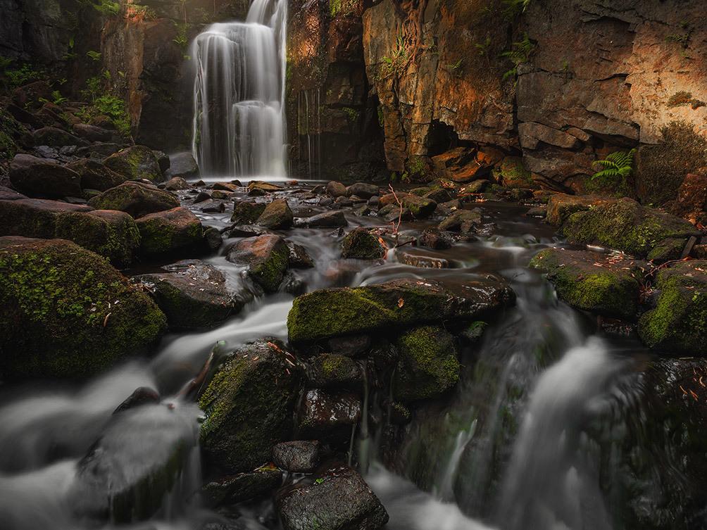 Lumsdale Autumn Falls II