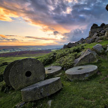 Mill Stones-Stanage Edge I