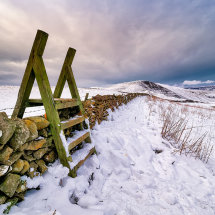 Winnats Pass Winter Snow II