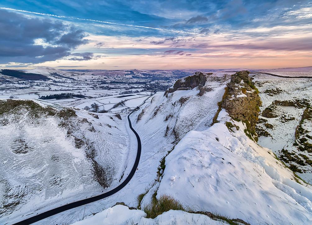 Winnats Pass Winter Snow III