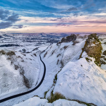 Winnats Pass Winter Snow III