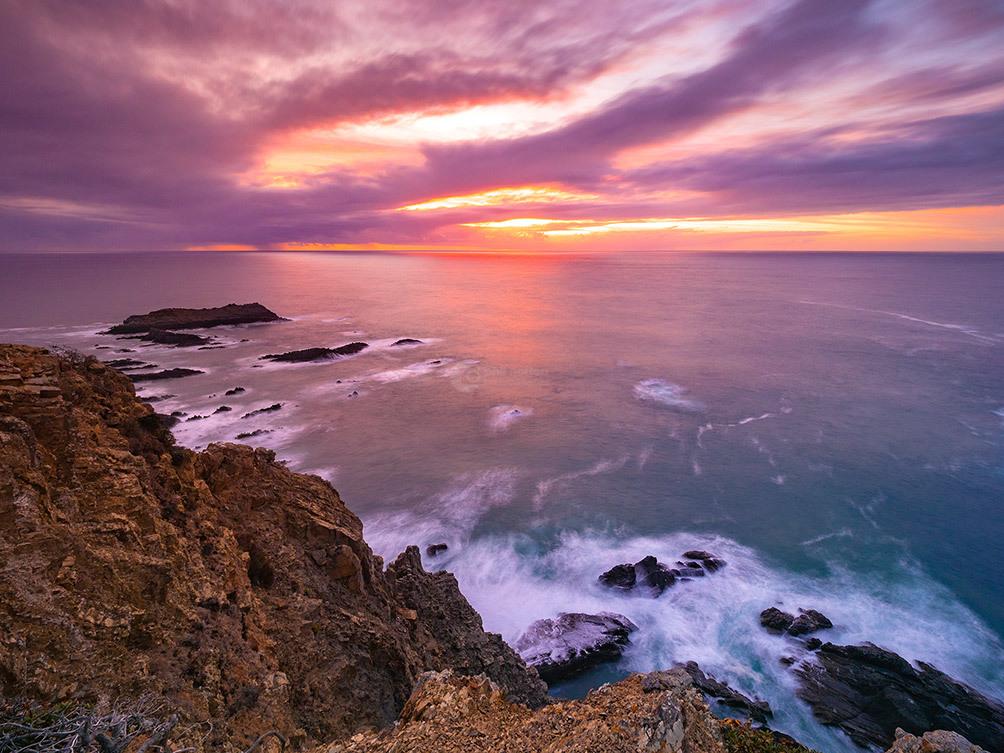Portugal Arrifana Sunset I