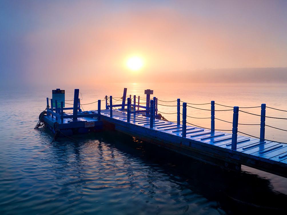 Portugal Milfontes Blue Jetty