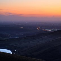 Dusk Over Saddleworth