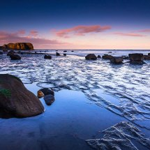 Saltwick Bay Blue Hour III