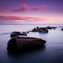 Tranquil Saltwick Bay