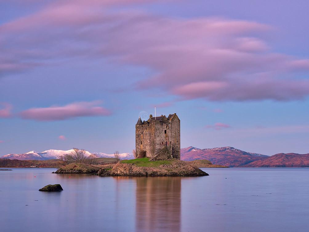 Castle Stalker Reflected