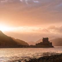 Eilean Donan Castle at Dawn