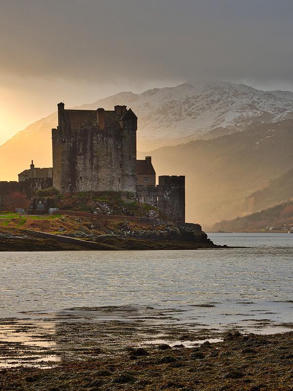 Eilean Donan Castle at Dawn II