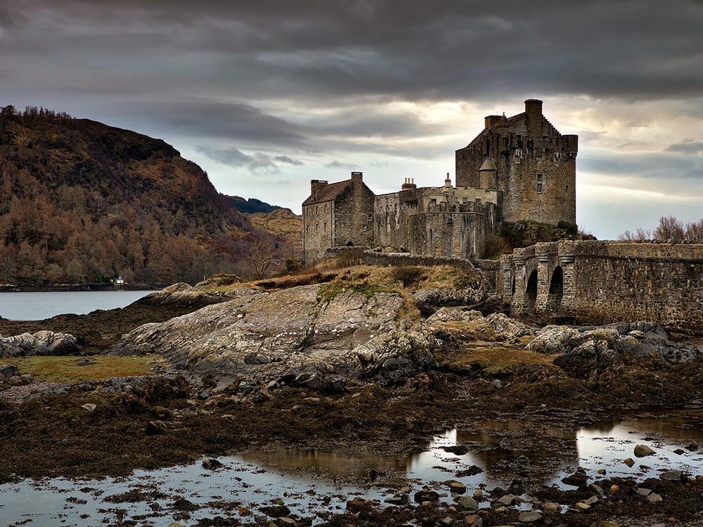 Eilean Donan Castle at Dusk I
