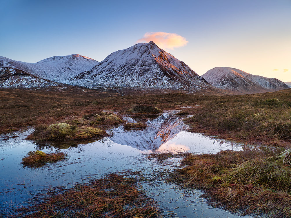 Stob Dearg Reflected II
