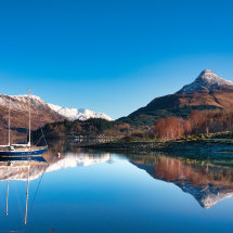 Loch Leven Reflections I