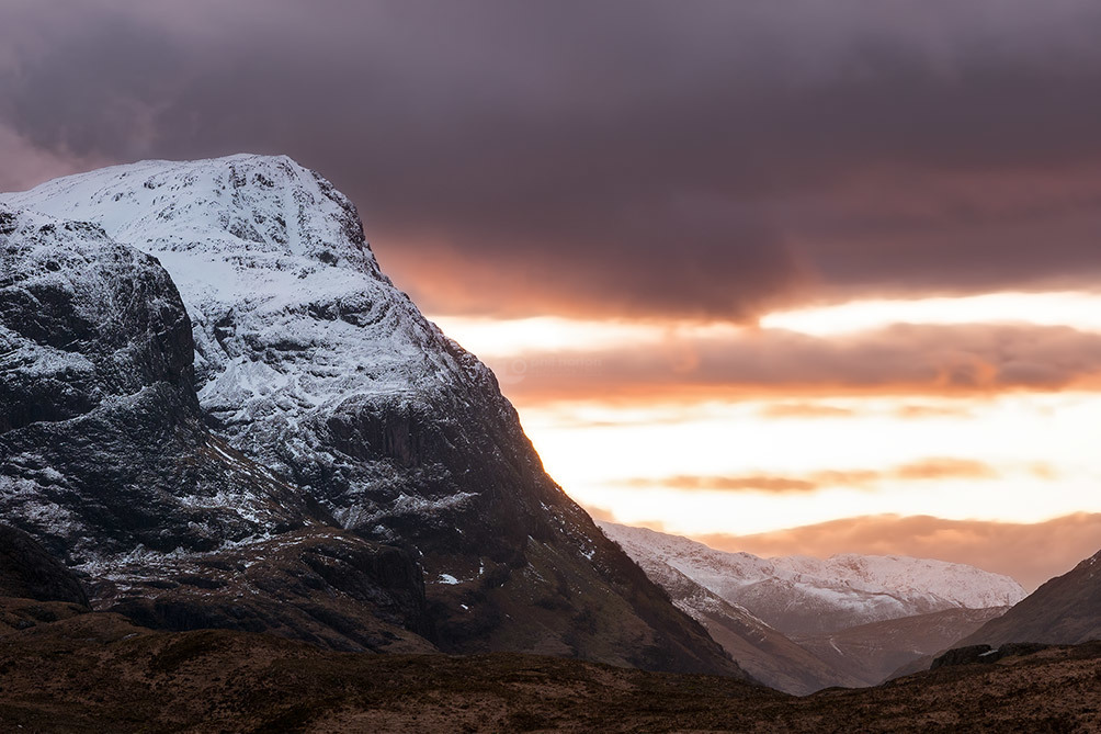 Snow Capped Buachaille