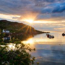 Loch Daibaig Sunset