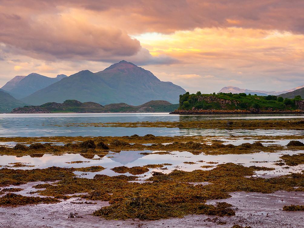 Sunset on Loch Sheildaig