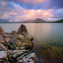 Twilight on Loch Sheildaig