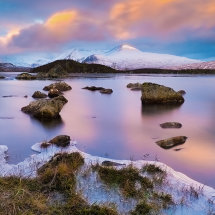 Winter Dawn Rannoch Moor II