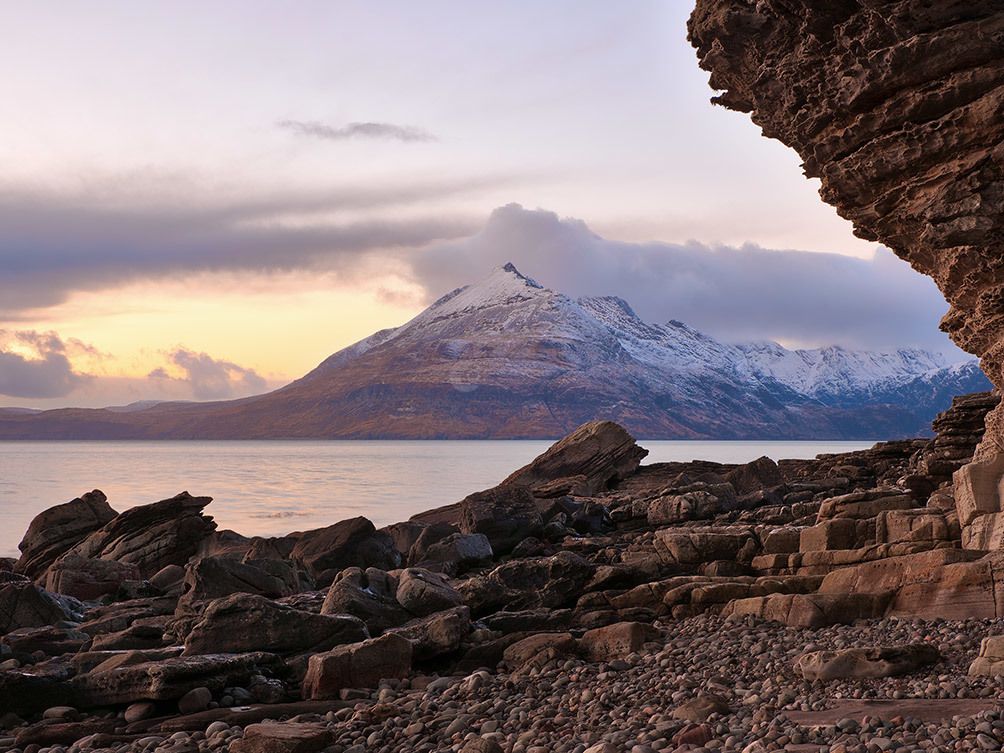 Elgol Sunset On The Cuillins II