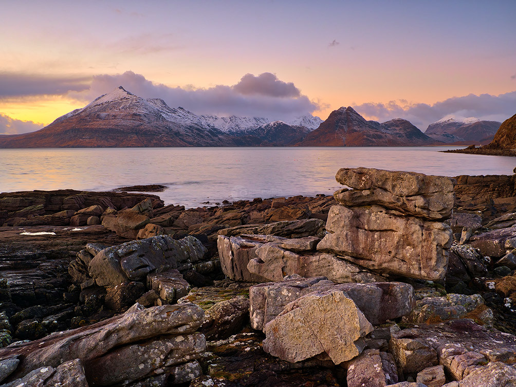 Elgol Sunset On The Cuillins III