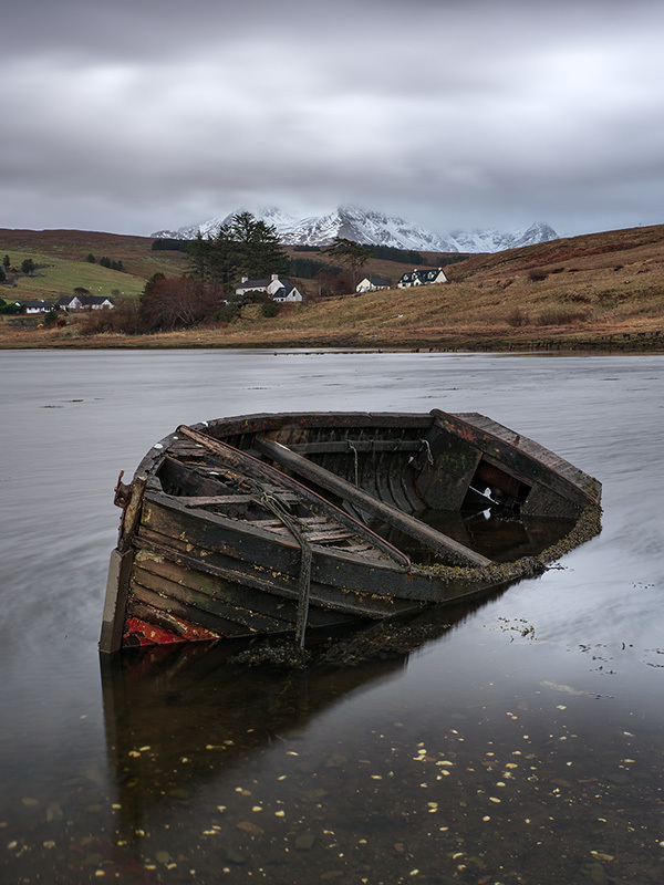 Loch Harport Sinking Boat