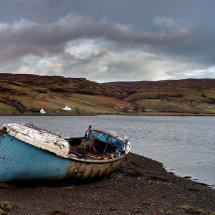 Loch Harport Abandoned Lifeboat