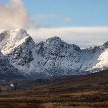 White Cottage Cuillin Mountains