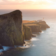 Neist Point Soft Sunset