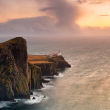 Neist Point Soft Sunset II