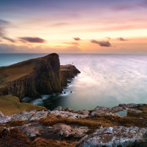 Neist Point Dramatic Sunset