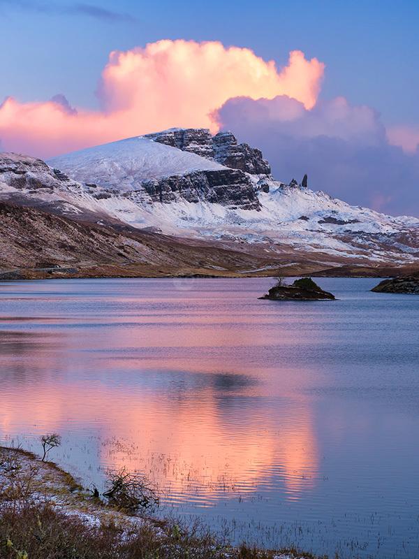 Loch Fadda and Lone Island