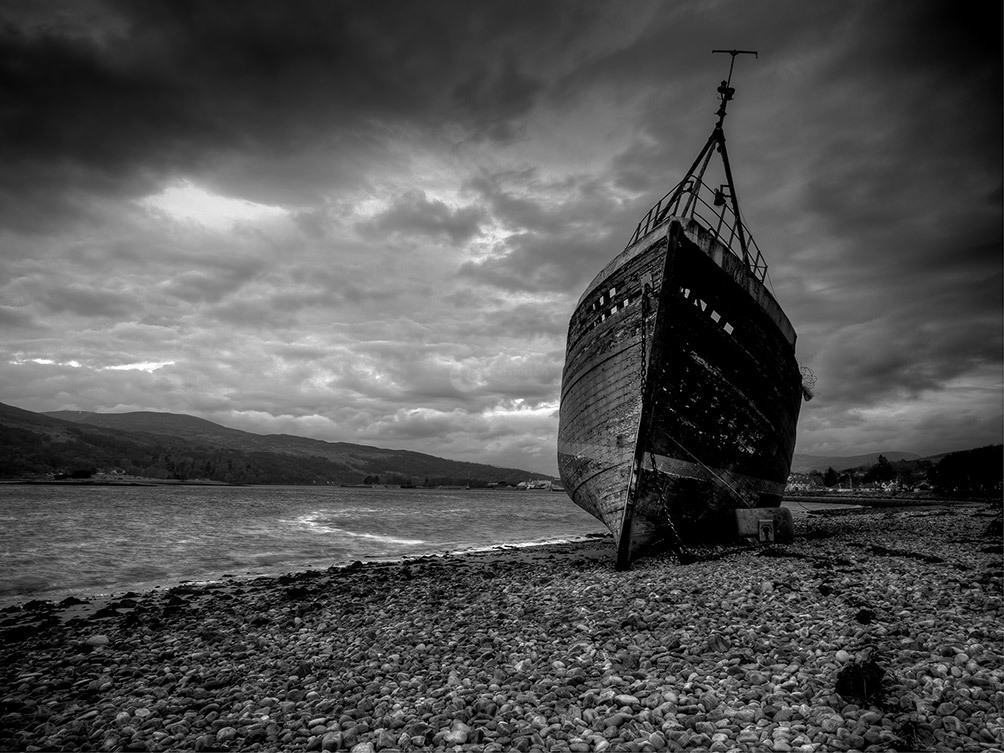 Dramatic Corpach Boat