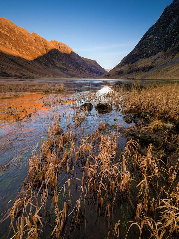 Loch Achtriochtan Grass